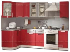Кухня Классика 1230*2100 с гнутыми фасадами