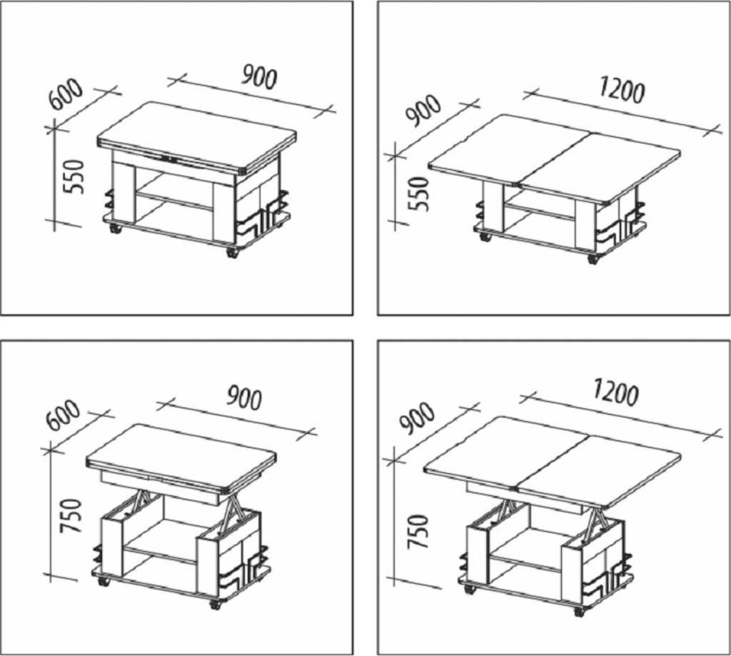 Обеденный стол своими руками схема 524
