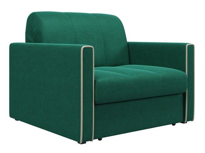 Кресло-кровать Римини 800, изумрудный velutto 33 фото