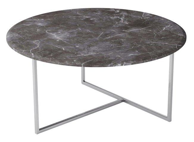 Стол журнальный Маджоре, серый мрамор фото