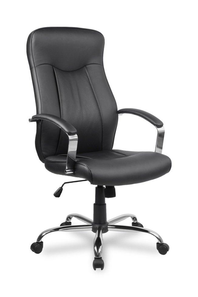 Кресло руководителя College H-9152L-1, черное фото