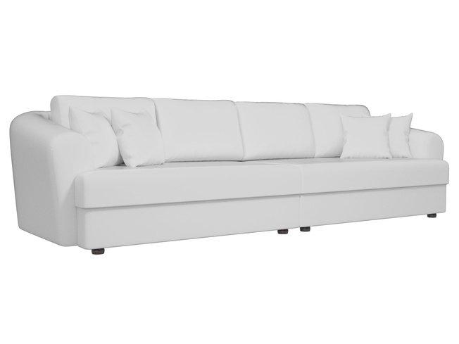 Диван-кровать Милтон, белый/экокожа фото