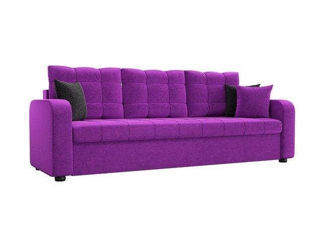 Диван-кровать Ливерпуль, фиолетовый/микровельвет фото