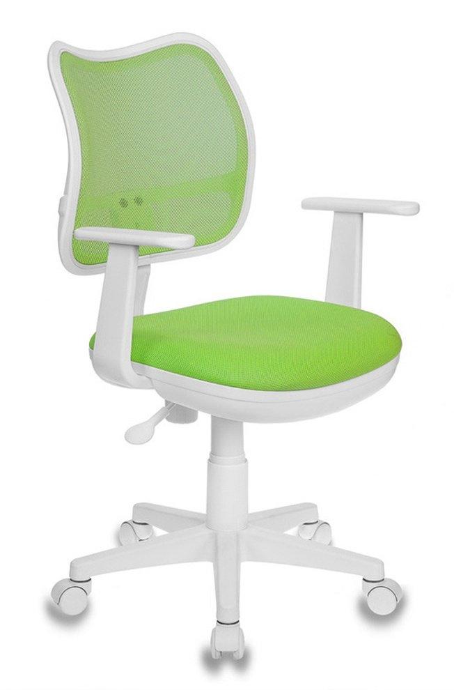Кресло детское CH-W797, салатовая ткань/сетка фото