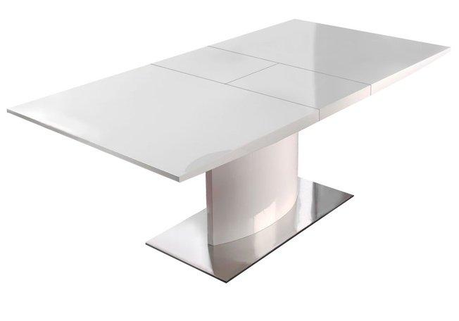 Стол обеденный раздвижной DT-01 180(220), белый фото