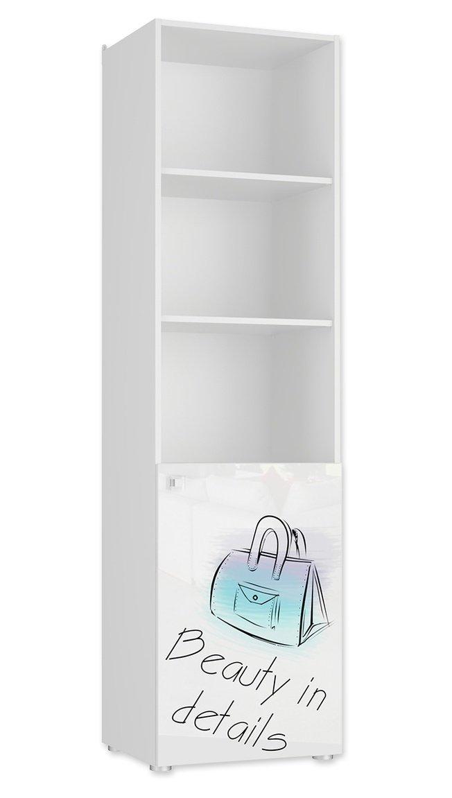 Шкаф-пенал открытый Модерн-стиль фото