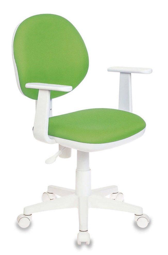 Кресло детское CH-W356AXSN, салатовая ткань фото