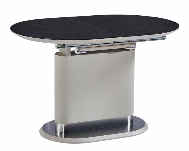 Стол обеденный OMEGA 140, латте сатин/латте фото