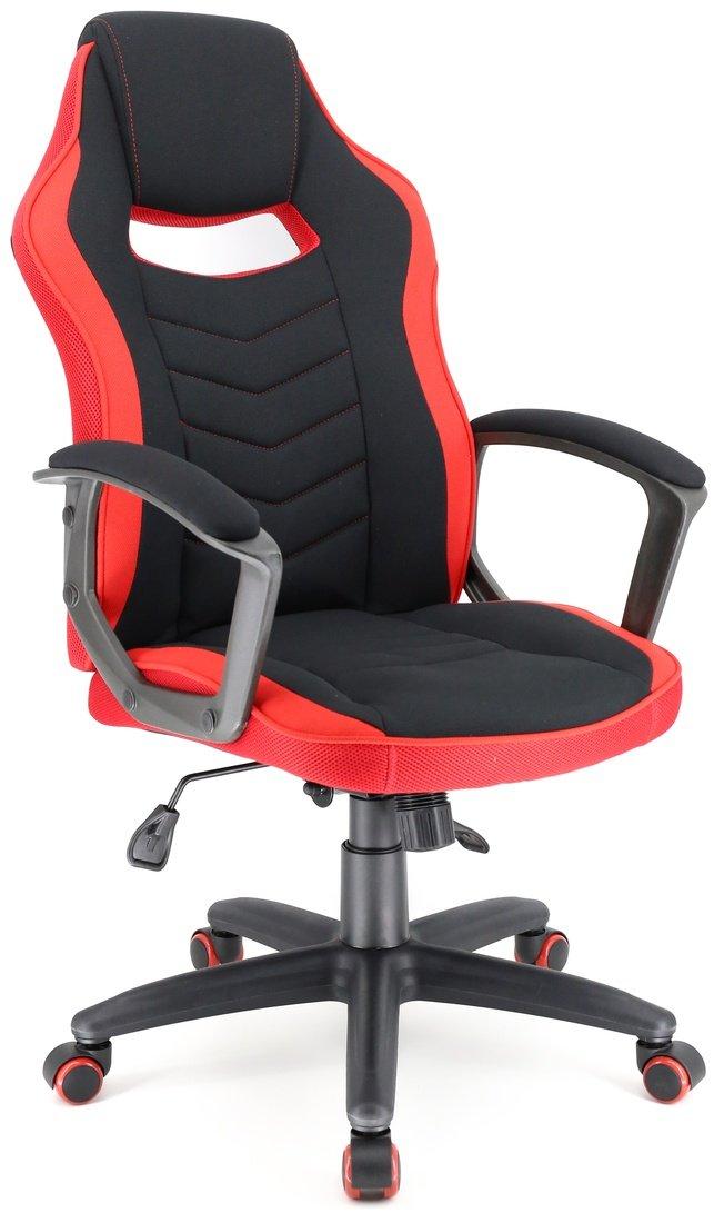Кресло офисное Stels T, ткань красная фото