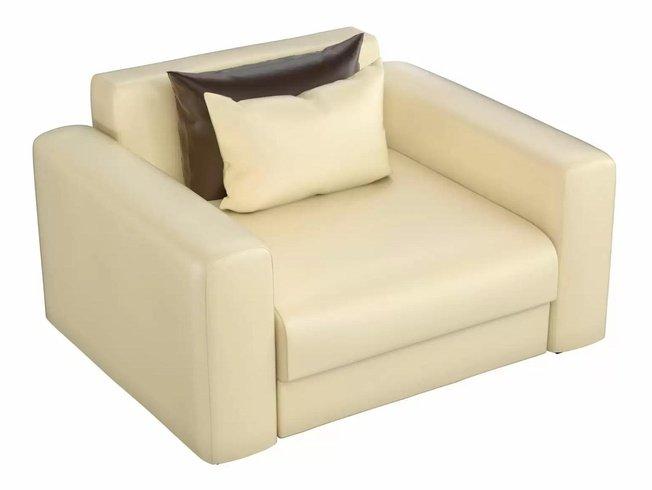 Кресло Мэдисон, бежевое/экокожа фото