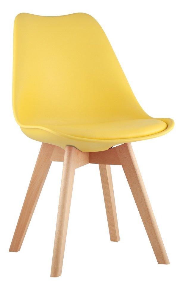 Стул FRANKFURT, желтый фото