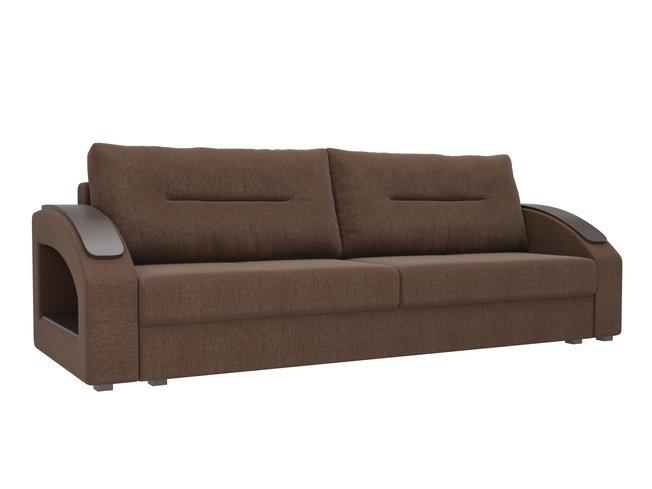 Диван-кровать Канзас, коричневый/рогожка фото