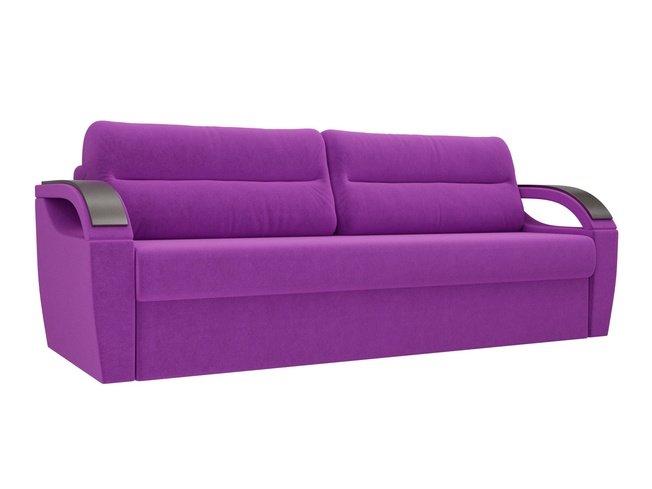 Диван-кровать Форсайт, фиолетовый/микровельвет фото