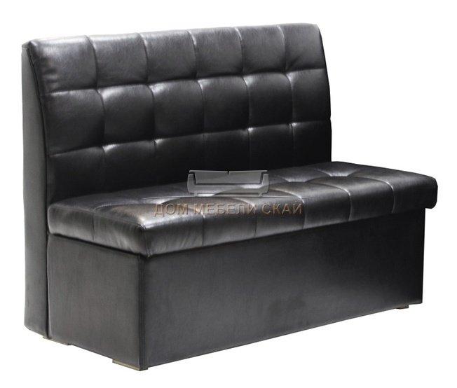 Кухонный диван-скамья Модерн 1200, черный - купить за 6530 руб. в Москве (арт. B10003539) | Дом мебели Скай