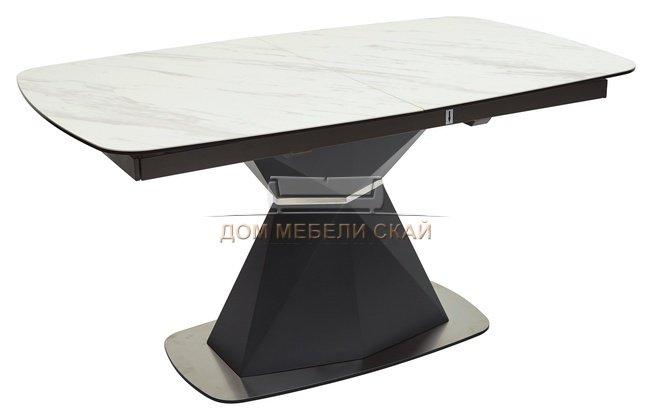 Стол обеденный раздвижной SEVERIN 150, MARBLES KL-99 белый мрамор/итальянская керамика - купить за 87750 руб. в Москве (арт. B10027479) | Дом мебели Скай