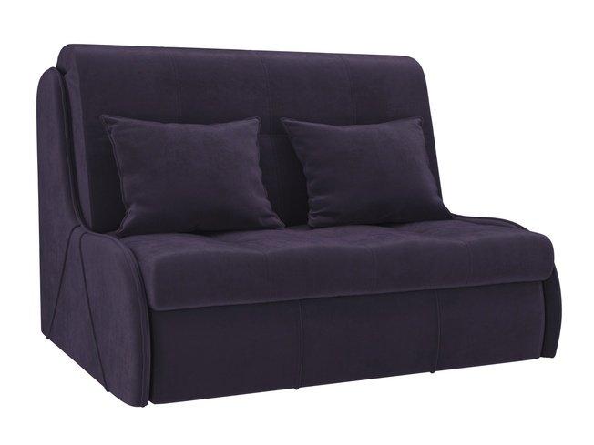 Диван-кровать аккордеон Риттэр, фиолетовый/велюр фото