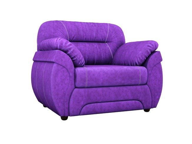 Кресло Бруклин, фиолетовое/велюр фото