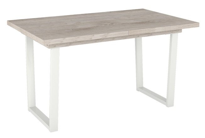 Стол обеденный JACKSON, дуб/белый фото