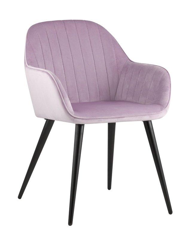 Стул-кресло Кристи, сиреневый вельвет фото