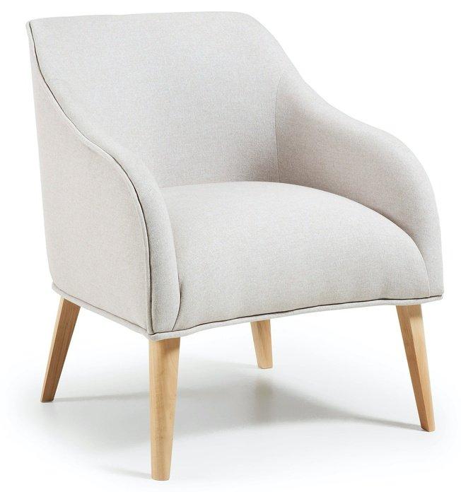 Кресло Lobby, бежевое фото