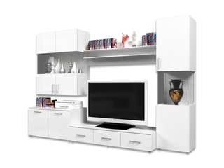Мебель Для Гостиной Белый Глянец Москва