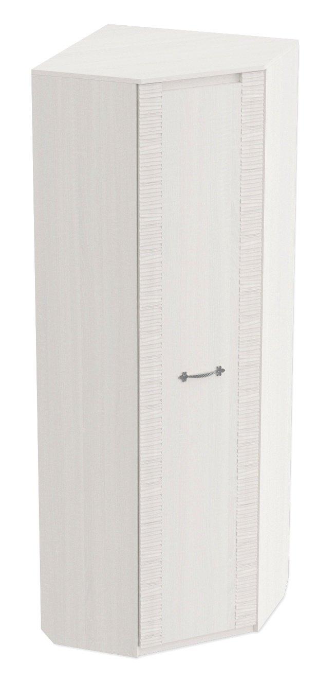 Шкаф угловой для гостиной Элана, бодега белая фото