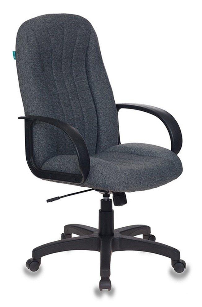 Кресло руководителя T-898, серая ткань фото