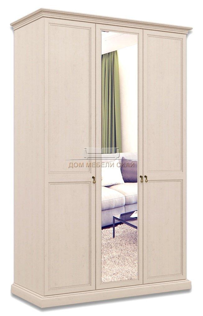Шкаф Венеция 3-дверный с зеркалом ВНШ1/3, дуб седан - купить за 36750 руб. в Москве (арт. B10002213)   Дом мебели Скай