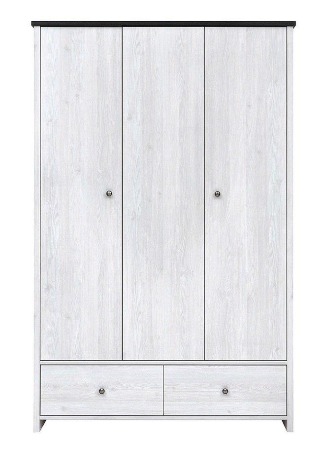 Шкаф 3-дверный Порто с ящиками SZF3D2S фото