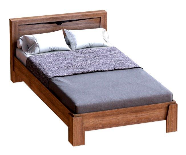 Кровать 1200 Соренто, дуб стирлинг фото