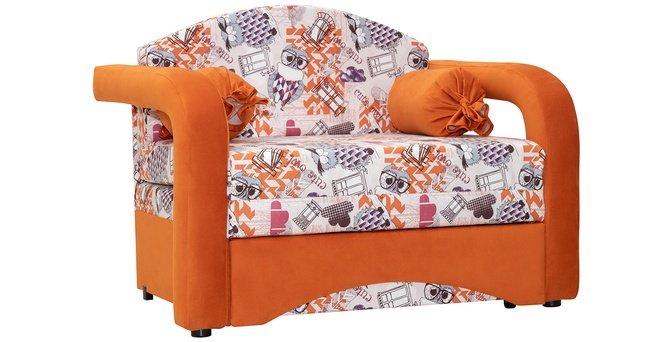 Кресло-кровать Антошка (85), оранжевый 01 фото