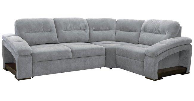 Диван-кровать угловой Рокси, серый 40431 фото