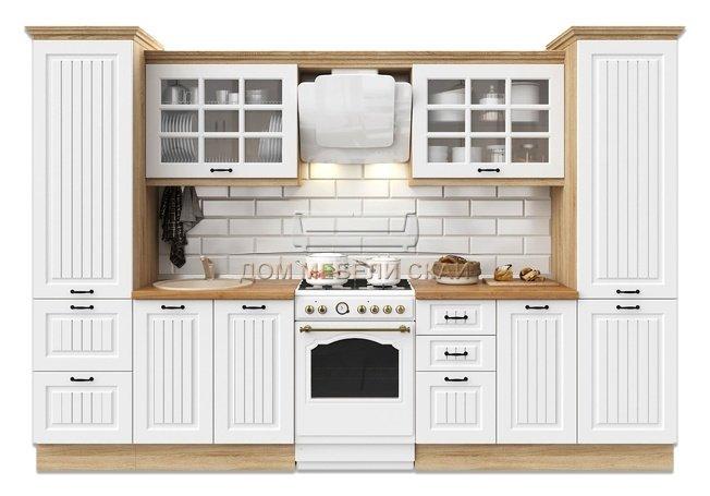 Кухня Неаполь 3200, белый матовый - купить за 65590 руб. в Москве   Дом мебели Скай