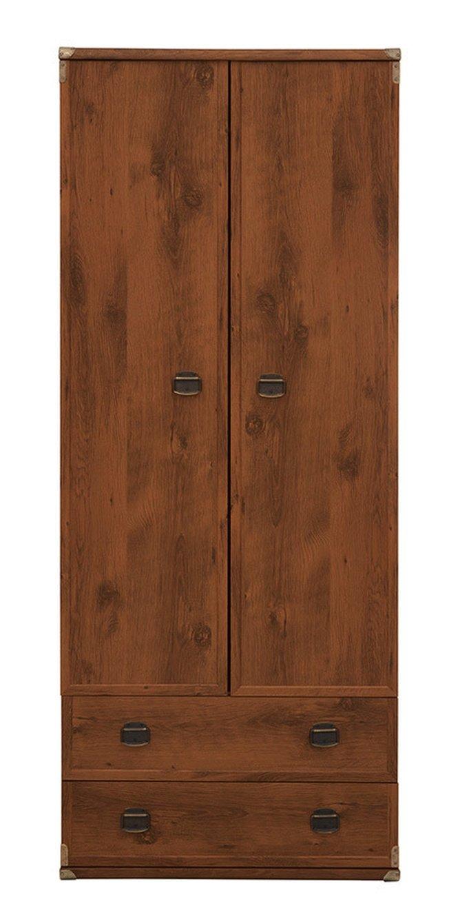 Шкаф со штангой Индиана JSZF 2d2s, дуб фото