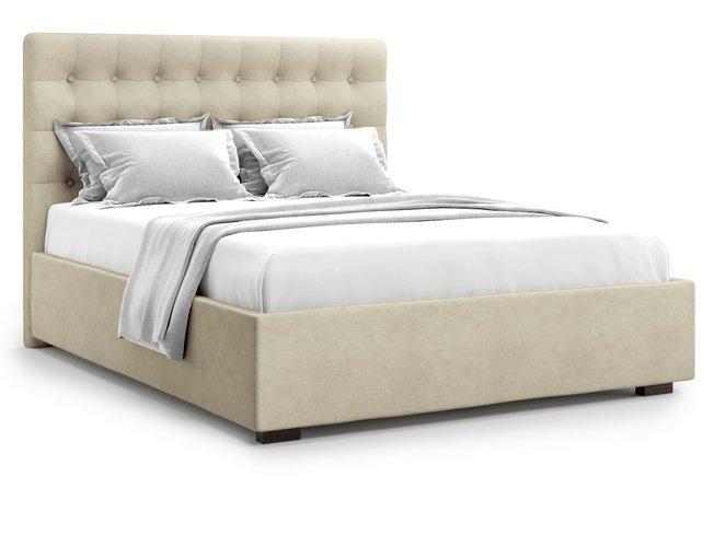 Кровать 1800 Brayers с подъемным механизмом, бежевый велюр velutto 17 фото