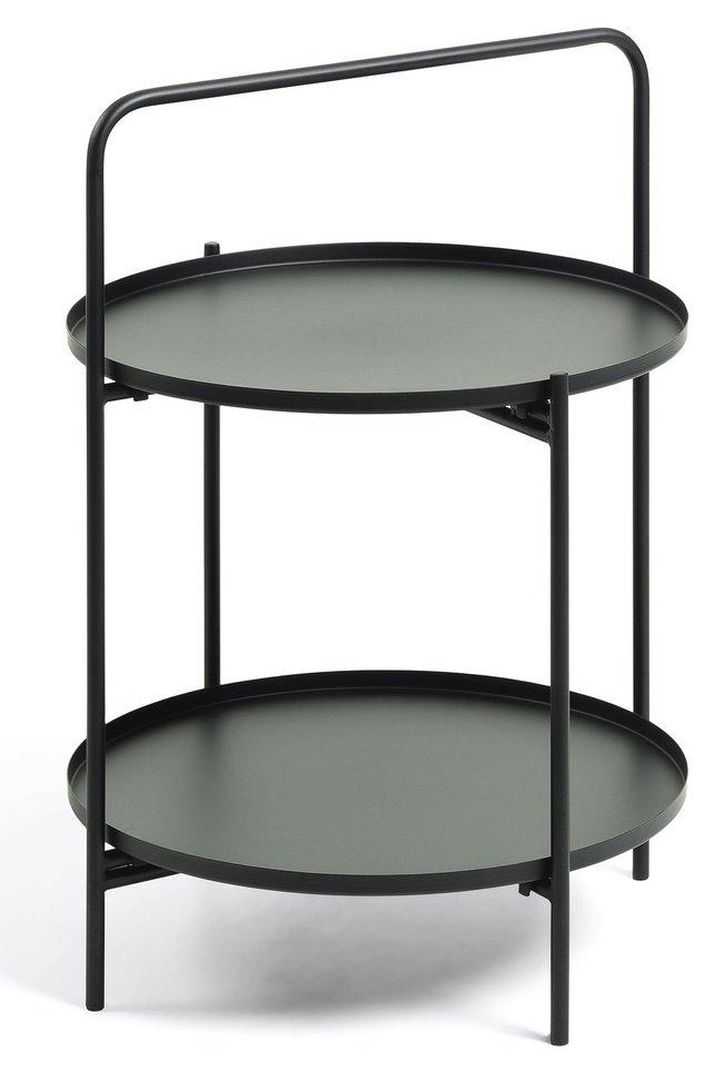 Журнально-приставной столик Ulla, черный фото