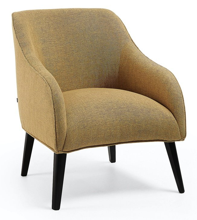 Кресло Lobby, горчичное фото