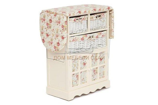 Комод гладильный с 3-я корзинами Secret De Maison CAMPANARD mod. PE-03  - купить за 9090 руб. в Москве (арт. B10007144)   Дом мебели Скай