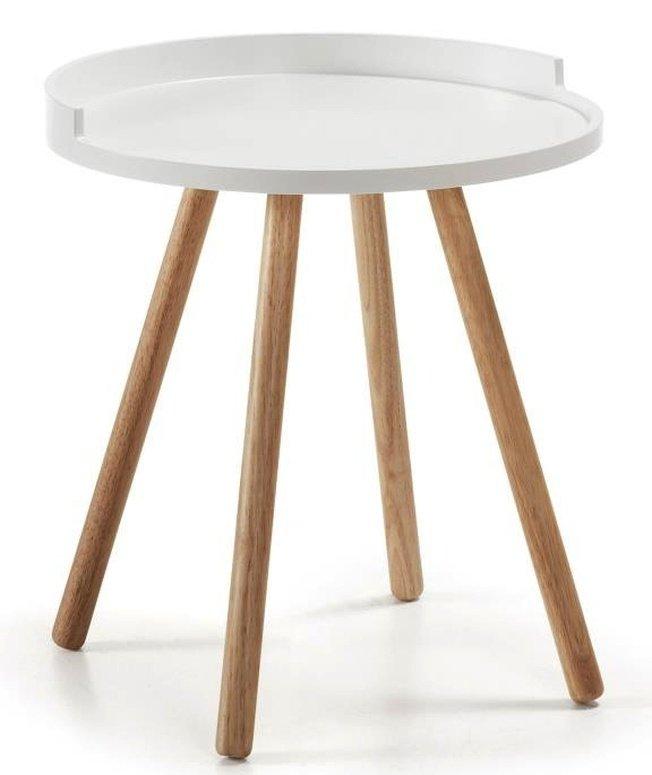 Журнальный столик Bruk, белый фото