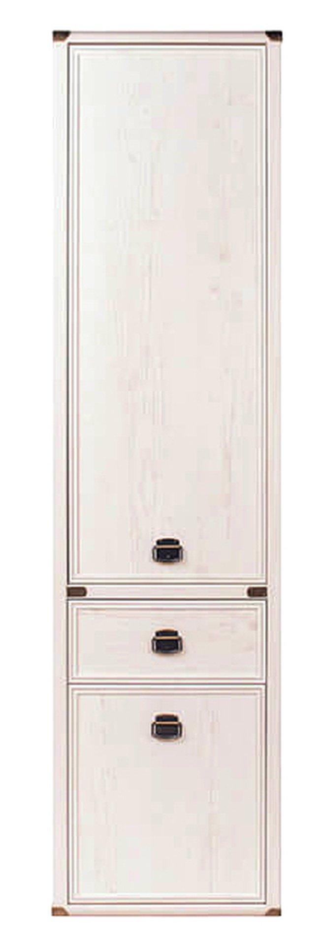 Шкаф-пенал с ящиком Магеллан 2D1S, сосна винтаж фото