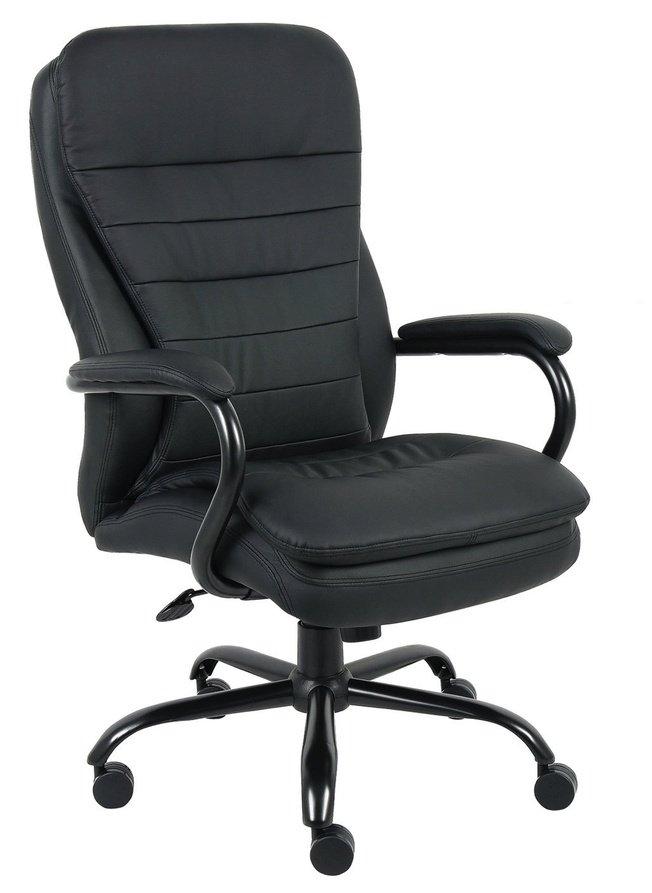 Кресло офисное Brabix Premium Heavy Duty HD-001 усиленное, экокожа фото