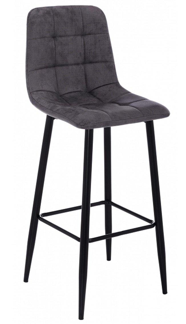 Барный стул Chio, black/dark grey фото