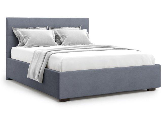 Кровать 1800 Garda с подъемным механизмом, серый велюр velutto 32 фото