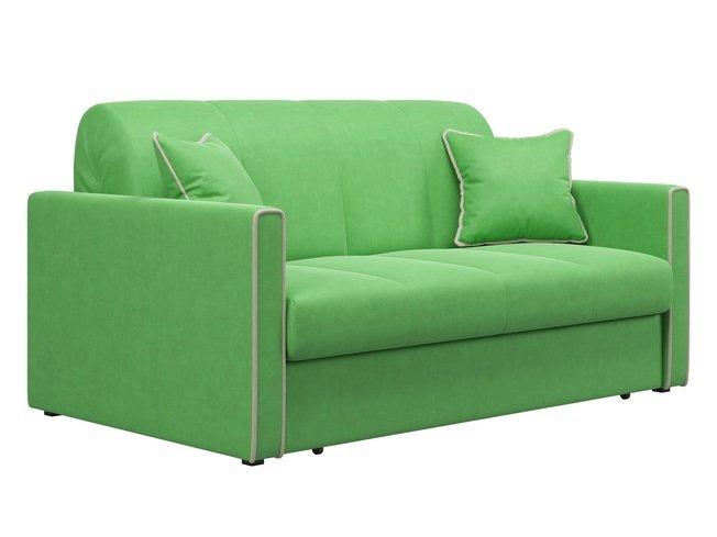 Диван-кровать Римини 1400, зеленый velutto 31 фото