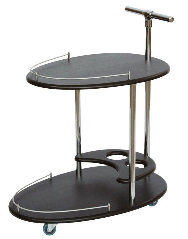 Стол сервировочный Фуршет, венге фото