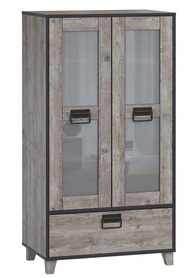 Шкаф-витрина Эссен, боб пайн фото