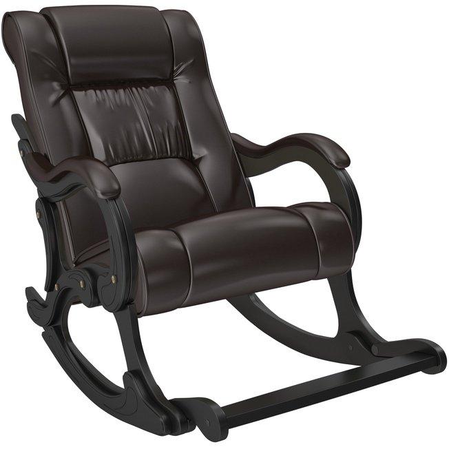 Кресло-качалка Модель 77, венге/Oregon perlamutr 120 фото