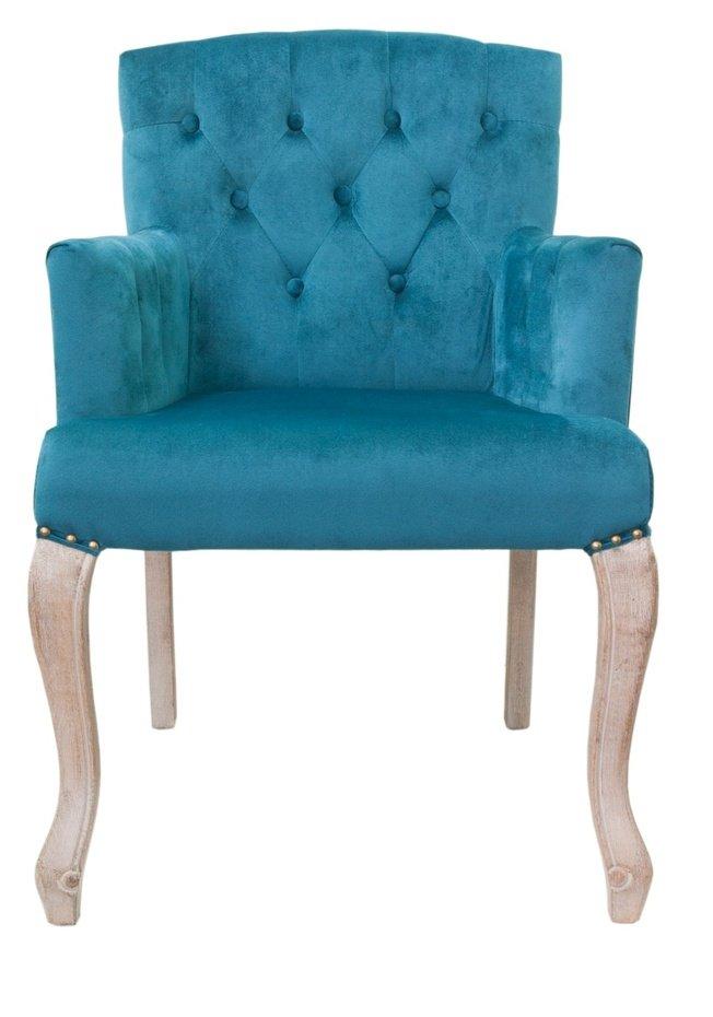 Кресло Deron, blue ver.2 фото
