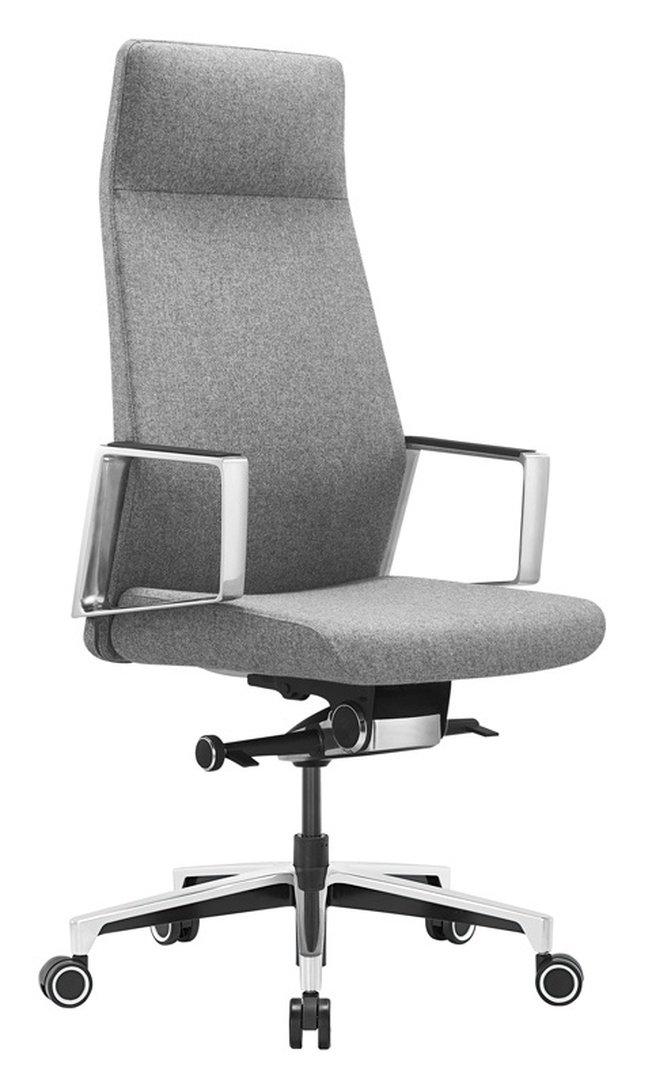 Кресло руководителя JONS, серая ткань фото