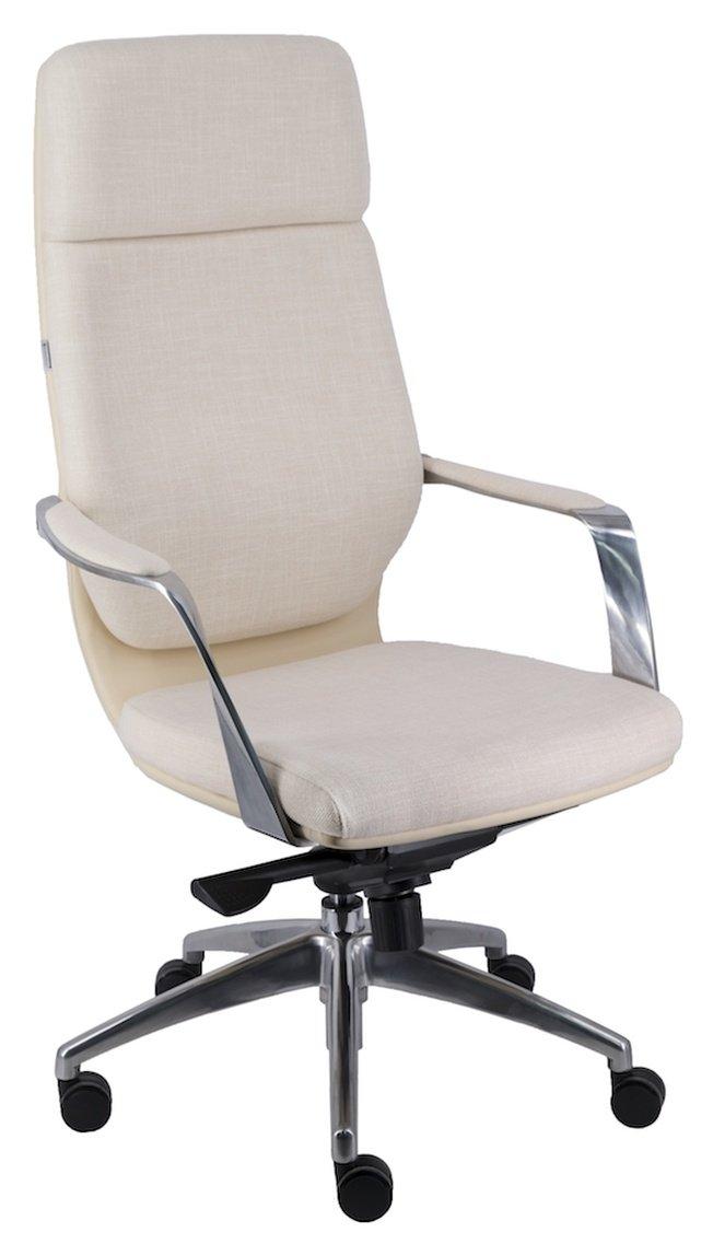 Кресло офисное Paris, ткань бежевая фото